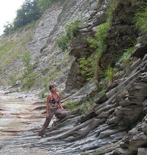 Скалы на реке Жане