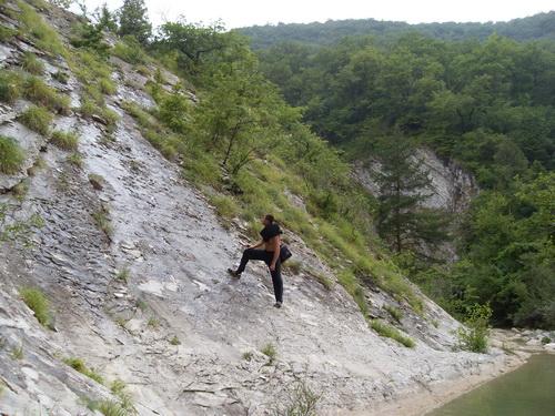 Пройти по скале