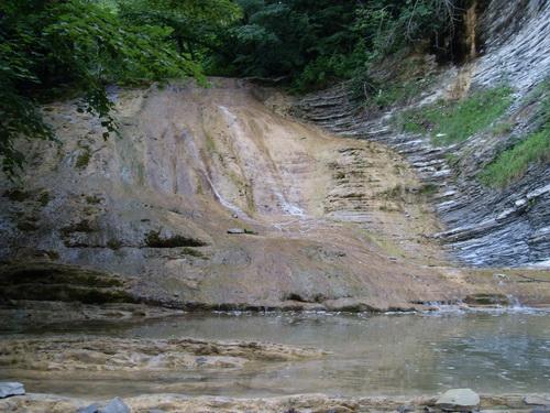 Водоскат на реке Жане
