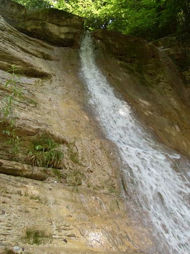 Река Жане. Водопад