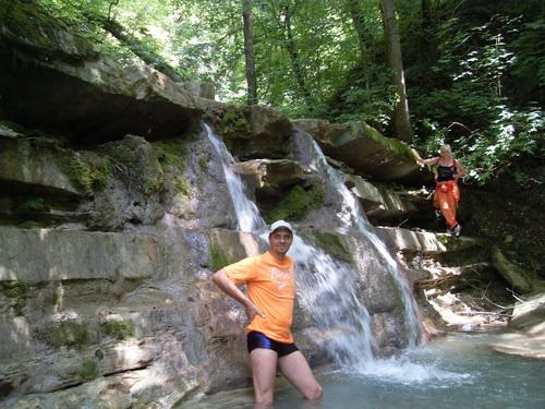 Еще один водопад на реке Жане