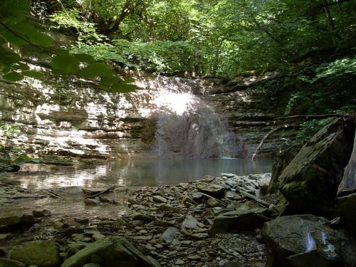 Водопад Жане