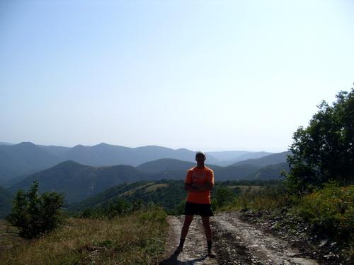 Дорога и горы