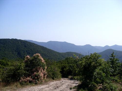 Дорога для джипов в горах