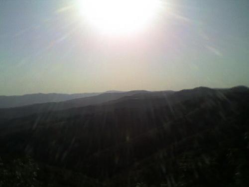 Жгучее солнце