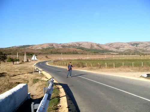 Дорога до Кизил-Коба