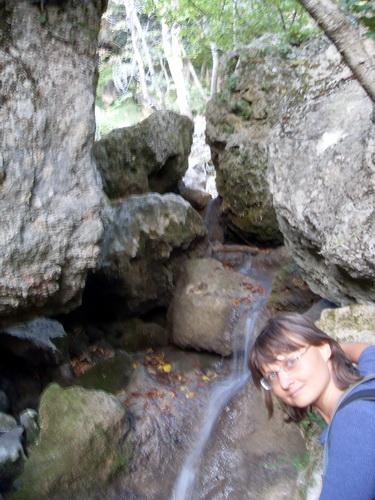 Кусочек водопада