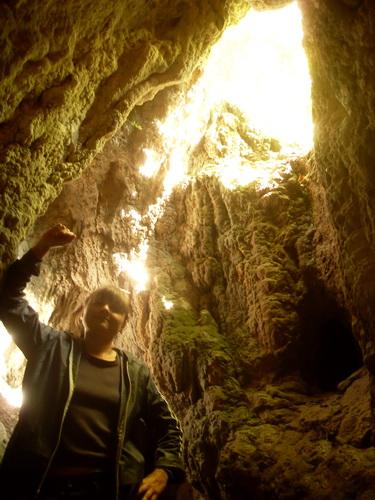 Вид из пещеры, но уже другой.