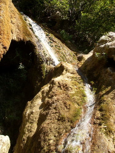Извилистый водопад Су-Учхан.