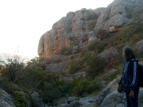Отвесная стена каньона