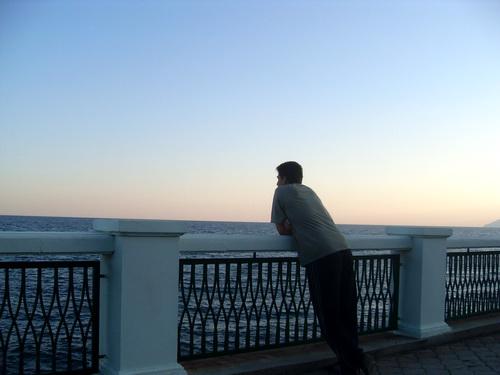 Набережная. Вид на море.