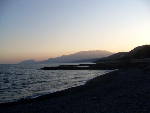Алуштинское побережье.