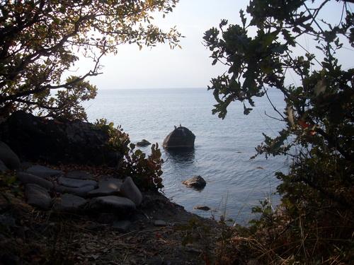Вид на море. Мыс Сотера