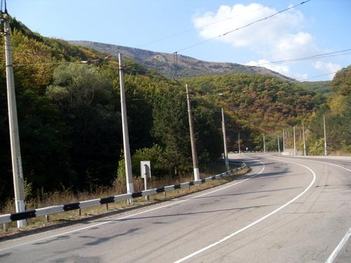 Дорога Симферополь - Алушта