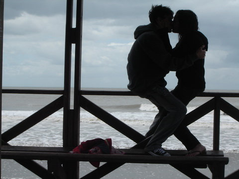 Поцелуй страсти